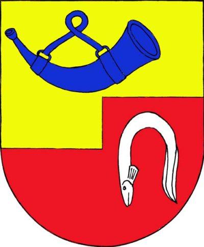 Znak obce Lukavec u Hořic