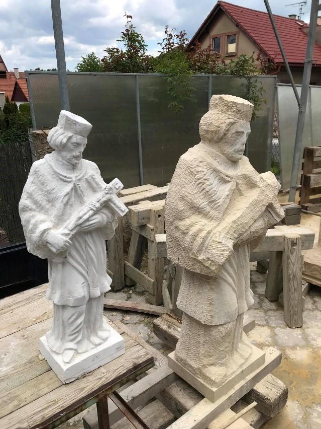 Jan Nepomuk socha