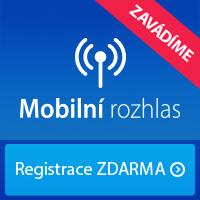 Registrace  Mobilní rozhlas