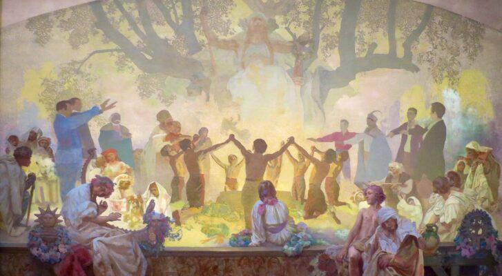 Svěcení křížku Lukavec