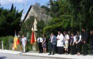 Svěcení sochy Jana Nepomuckého