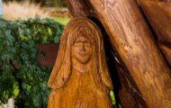 Marie dřevěný betlém