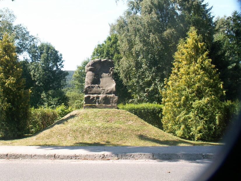 Pomník padlým spoluobčanům v 1. světové válce.