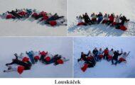 Louskáček na sněhu