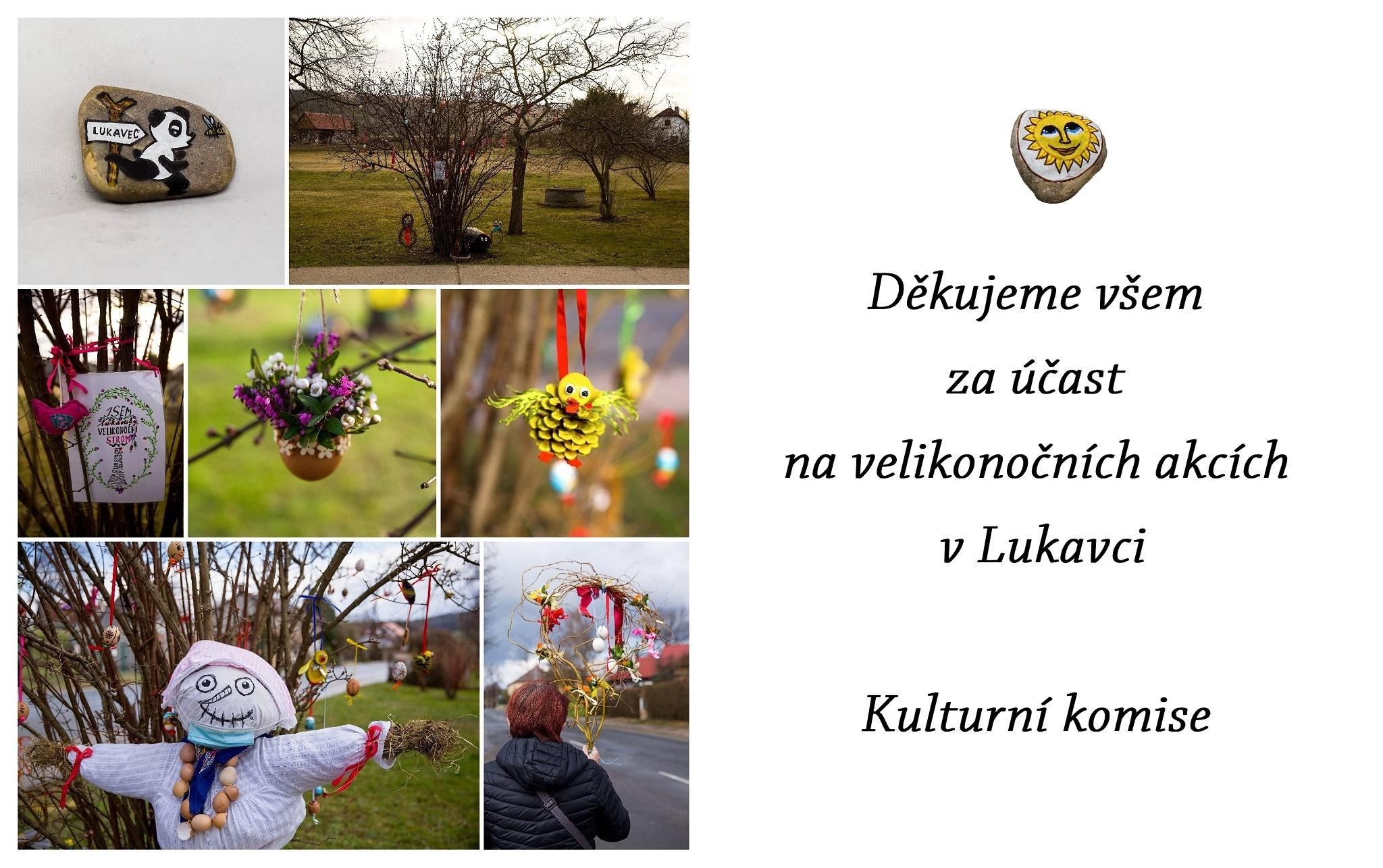 Poděkování Velikonoce 2021